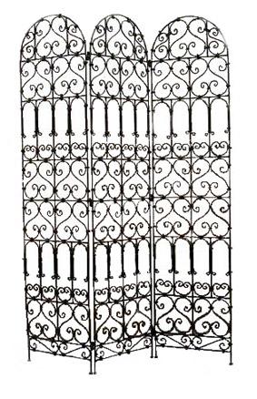 paravent fer forg image 1 pictures to pin on pinterest. Black Bedroom Furniture Sets. Home Design Ideas