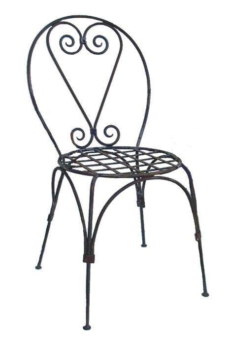 Chaises fauteuils tabourets de bar en fer forg - Chaise de bar en fer forge ...