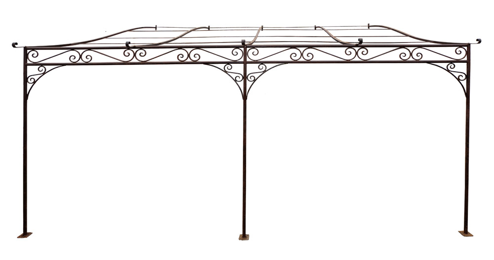 pergola volutes. Black Bedroom Furniture Sets. Home Design Ideas